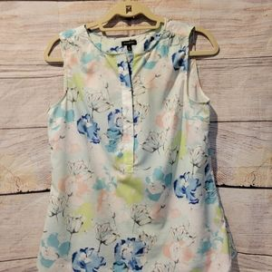 Talbots spring sleeveless blouse size 6